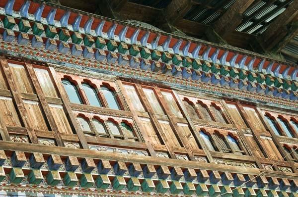 Windows at Ugyencholing, Bumthang