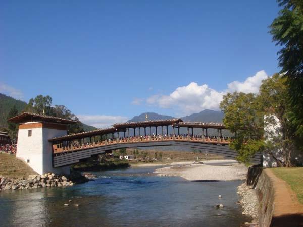 Bridge at Punakha