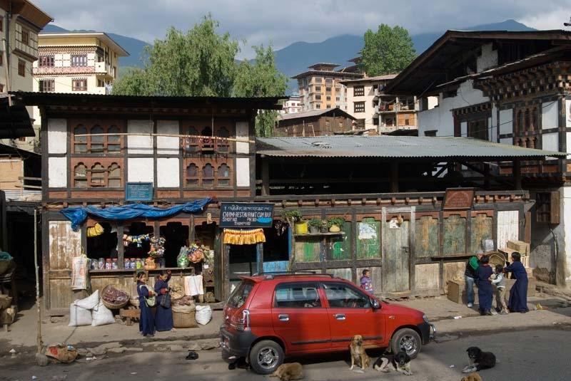 Thimphu town