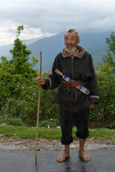 Old man in the east